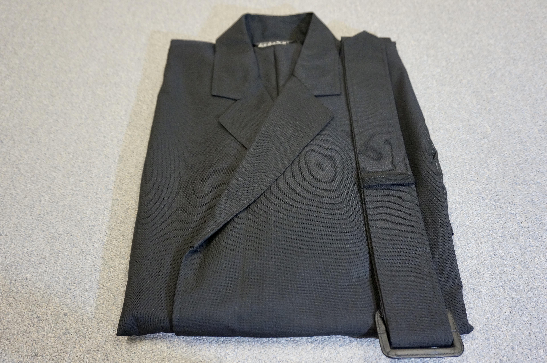 双林三本絽 洋服法衣