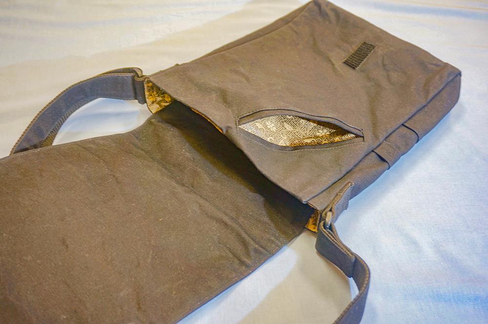 帆布製頭陀袋