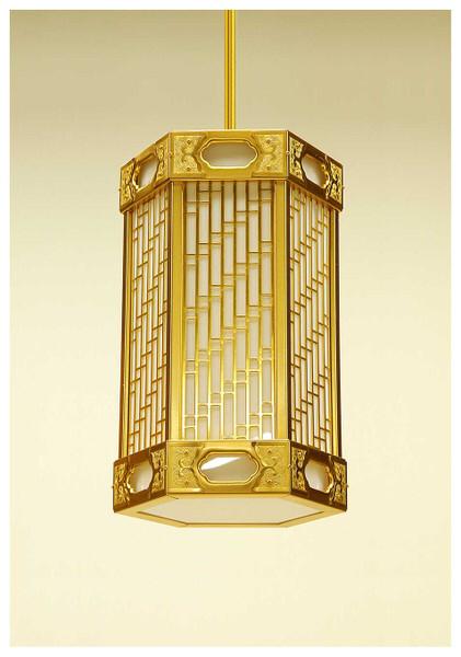 六角寸胴型吊灯籠