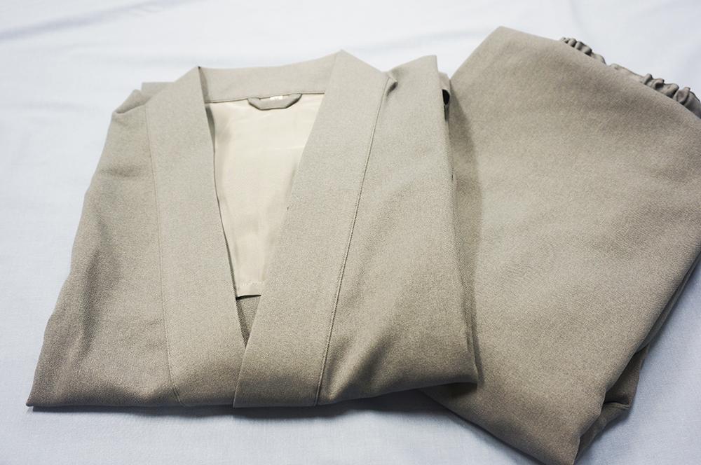 テクノウール 作務衣