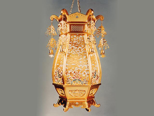 木製隠元吊灯籠