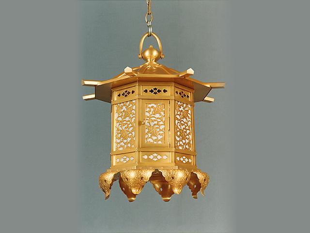八角型吊灯籠