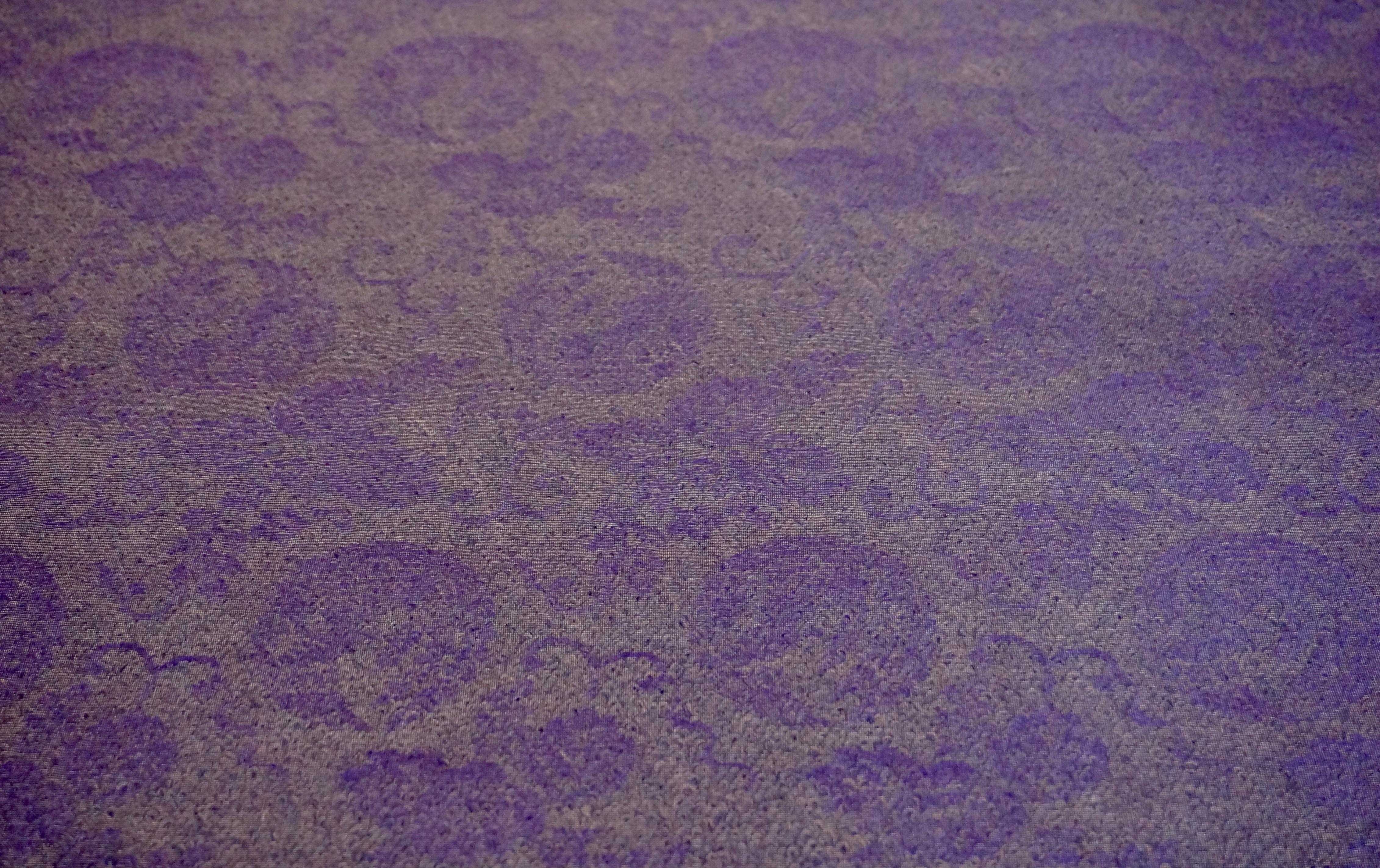 夏用正絹 紫衣
