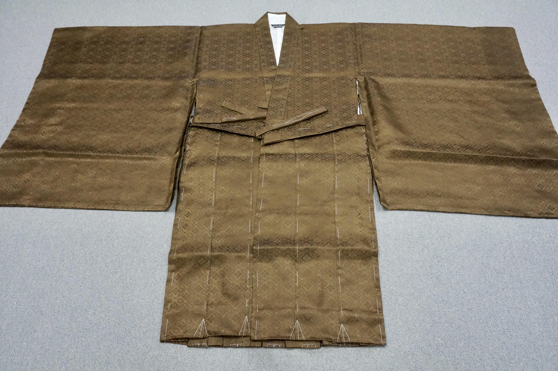 冬用正絹 茶衣