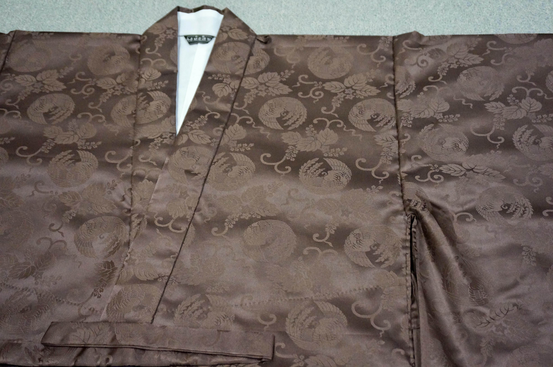 冬用化繊 茶衣