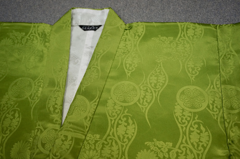 冬用正絹 萌黄衣
