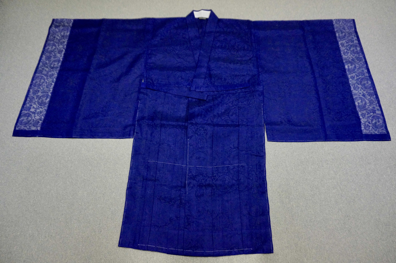 夏用化繊 紫衣