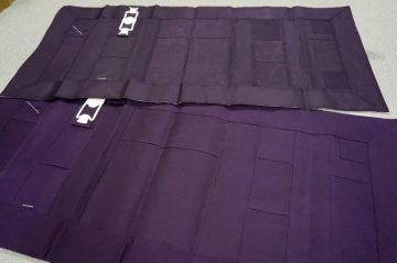 別染古代紫色 大師衣